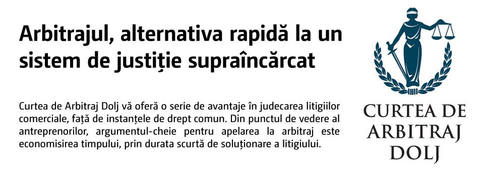Arbitrajul, alternativa rapidă la un sistem de justiţie supraîncărcat
